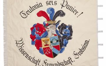 Vereinsfahne - gestickte Fahne